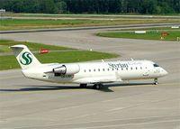 OE-LSD @ LSZH - Canadair Regional Jet 200LR [7329] (Styrian Spirit) Zurich~HB 22/07/2004