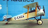 G-EAGA @ EGTC - Sopwith Dove Replica [3004/1] Cranfield~G 01/07/1995