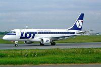 SP-LDA @ EPWA - Embraer Emb-170-100ST [17000023] (LOT Polish Airlines) Warsaw-Okecie~SP 18/05/2004