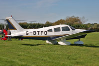 G-BTFO @ EGBR - Piper PA-28-161. Hibernation Fly-In, The Real Aeroplane Club, Breighton Airfield, October 2012. - by Malcolm Clarke