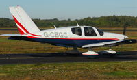 G-CBGC @ EGLK - Blackbushe resident Tobago photographed on 17th October 2010 - by Michael J Duffield
