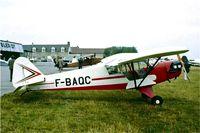 F-BAQC @ LFFQ - Poullin PJ-5B [6] La Ferte Alais~F 16/09/1978