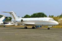 PK-RJW @ WIHH - Fokker F-28-1000 Fellowship [11045] (Post Eksres Prima) Jakarta-Halim~PK 25/10/2006