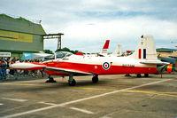 XM351 @ EGWC - BAC Jet Provost T.3 XM351 Maintenance No 8078M [PAC/W/6308] RAF Cosford~G 09/06/1996