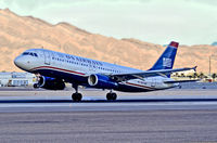 N601AW @ KLAS - N601AW US Airways Airbus A320-232 (cn 1935)