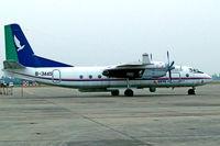 B-3445 @ ZUGH - Xian Yunshuji Y-7-100C [09705] (CETC) Guanghan~B 20/10/2006 - by Ray Barber