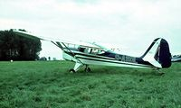 G-ASDL @ EGTH - Beagle A.61 Terrier 2 [B.703] Old Warden~G 11/07/1982. Image taken from a slide.
