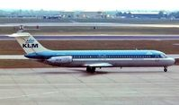 PH-DNL @ EGLL - McDonnell Douglas DC-9-32 [47190] (KLM Royal Dutch Airlines) Heathrow~G 1975. Image taken from a slide.