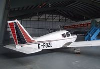 C-FOZL - Piper PA-28-180 Cherokee 180 B in the Hangar of the British Columbia Aviation Museum, Sidney BC - by Ingo Warnecke