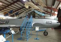 133462 - Canadair CT-133 Silver Star 3 (T-33) at the British Columbia Aviation Museum, Sidney BC