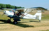 G-BZLO @ EGBP - Denney Kitfox Mk.II [PFA 172-13630] Kemble~G 13/07/2003. Cancelled after crashing at Woodlands Barton Farm Roche Cornwall 04-01-2004.