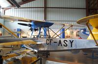 CF-ASY - Eastman E-2 Sea Rover (with parts of CF-ASW, c/n: 16) at the British Columbia Aviation Museum, Sidney BC