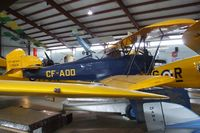 CF-AOD - Fleet 2 on floats at the British Columbia Aviation Museum, Sidney BC - by Ingo Warnecke