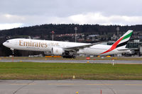 A6-ECI @ LSZH - Emirates - by Martin Nimmervoll