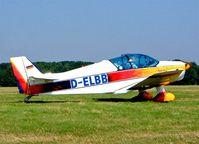 D-ELBB @ EBDT - SAN Jodel D.150 Mascaret [30] Schaffen-Diest~OO 17/08/2002. - by Ray Barber