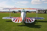 G-GULZ @ X5FB - Christen Eagle II, Fishburn Airfield UK, September 2012. - by Malcolm Clarke