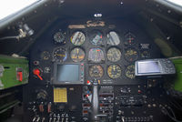 D-FHGL @ LOLW - Cockpit of an AT 6