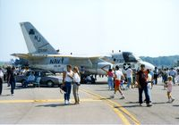 160598 @ SWF - Lockheed S-3A Viking, 160598, of VS-41 at the 1989 Stewart International Airport Air Show, Newburgh, NY - by scotch-canadian