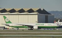B-16706 @ KLAX - Taxiing to gate at LAX - by Todd Royer