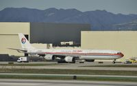 B-6050 @ KLAX - Taxiing for departure