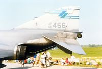 66-0456 @ SWF - 1966 McDonnell RF-4C, 66-0456, of the 136th Fighter Squadron, 107th Tactical Fighter Group, New York Air National Guard at the 1989 Stewart International Airport Air Show, Newburgh, NY - by scotch-canadian