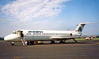 Z3-ARA @ LJLJ - McDonnell Douglas DC-9-33RC [47530] (Avioimpex) Ljubljana~S5 19/06/1996