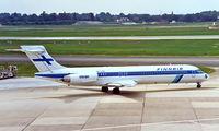 OH-LMA @ EDDL - McDonnell Douglas DC-9-87 [49403] (Finnair) Dusseldorf~D 23/05/1998