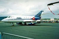G-FRAM @ EGDY - Dassault Falcon 20DC [224] RNAS Yeovilton~G 15/07/1995