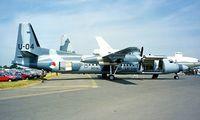 U-04 @ EGVA - Fokker 60UTA-N [20329] (Royal Netherlands AF) RAF Fairford~G 21/07/1996