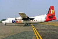 PK-LTP @ WIHH - Fokker F-27-500 Friendship [10398] (GT Air) Jakarta-Halim~PK 25/10/2006
