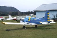 C-FEEU @ CYCD - American Aviation AA-5 Traveller at Nanaimo Airport, Cassidy BC - by Ingo Warnecke