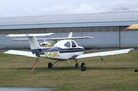 C-FJWL @ CYCD - Beechcraft 77 Skipper at Nanaimo Airport, Cassidy BC - by Ingo Warnecke