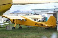 C-GYAK @ CYCD - PZL-Okecie PZL-101 Gawron at Nanaimo Airport, Cassidy BC