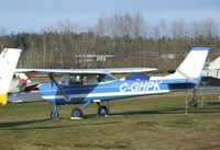 C-GHPK @ CYCD - Cessna 150H at Nanaimo Airport, Cassidy BC - by Ingo Warnecke