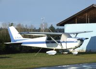 C-FLVH @ CYCD - Cessna 175A at Nanaimo Airport, Cassidy BC - by Ingo Warnecke