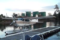 C-GDOM - Cessna A185F Skywagon on floats at the Seair seaplane terminal, Nanaimo BC - by Ingo Warnecke
