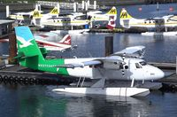 C-FWTE @ CYHC - DeHavilland Canada DHC-6-100 Twin Otter of Westcoast Air at Coal Harbour (Downtown) seaplane base, Vancouver BC