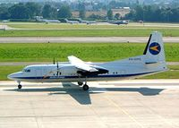PH-DMS @ LSZH - Fokker F-50 [20209] (Denim Airways) Zurich~HB 22/07/2004