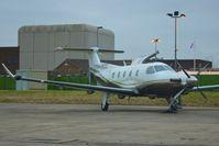 PH-ECC @ EGNX - Dutch Pilatus PC-12/45, c/n: 107 at East Midlands