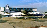 D-BAKE @ EDDF - Fokker F-27-100 [10257] (WDL Flugdienst) Frankfurt~D 04/10/1986 - by Ray Barber
