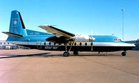 OY-SRR @ ESSA - Fokker F-27-600 Friendship [10392] (Star Air) Stockholm-Arlanda~SE 09/06/1988