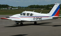 G-OPME @ EGLK - Smart PA-23 Aztec seen parked at Blackbushe on 19th June 2008 - by Michael J Duffield