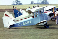 G-BANV @ EGBK - Phoenix Currie Wot [PFA 3010] Sywell~G 03/07/1976. Image taken from a slide. Damaged beyond repair near Leek Staffs 15/09/1983.