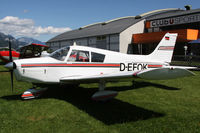 D-EFOK @ LOGO - Piper PA28 - by Loetsch Andreas