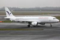 D-AHHD @ EDDL - Hamburg Airways, Airbus A320-214, CN: 0716 - by Air-Micha