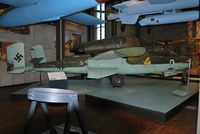 120076 - Heinkel He-162A-2 Salamander at the Berlin Technical Museum. - by moxy