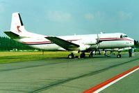 9Q-CDY @ EBAW - Avro Andover C.1 [Set 11] Antwerp-Deurne~OO 09/08/2000 - by Ray Barber