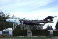 101057 - McDonnell CF-101B Voodoo outside CFB Comox - by Ingo Warnecke