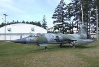 104731 - Lockheed (Canadair) CF-104 (F-104G) Starfighter at Comox Air Force Museum, CFB Comox - by Ingo Warnecke