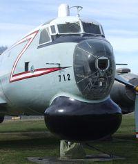 10712 - Canadair CP-107 Argus at Comox Air Force Museum, CFB Comox - by Ingo Warnecke